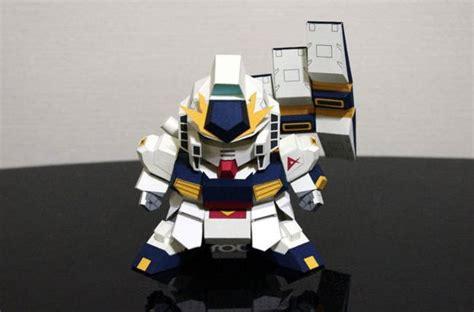 Gundam Papercraft - sd rx 93 扈 gundam papercraft ver 4 free template