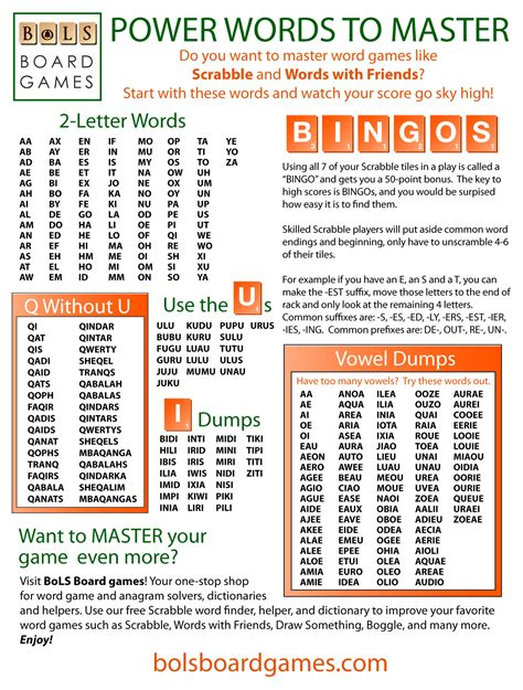 words scrabble finder how to dominate at word
