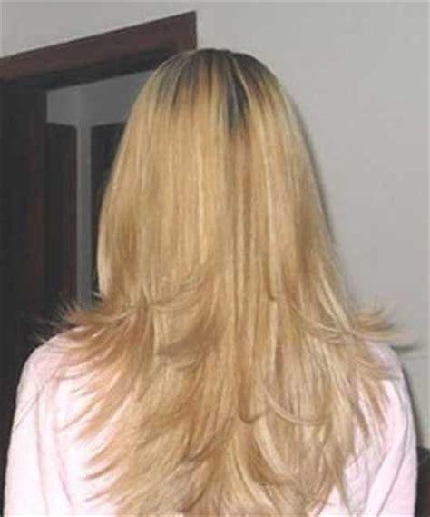 como fazer corte de cabelo em v repicado e desfiado