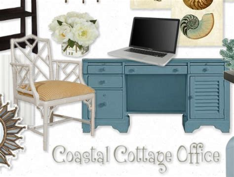 beach style office desk coastal style desk home decoration club