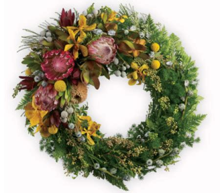 best 28 wreath supplies australia waratah lest we
