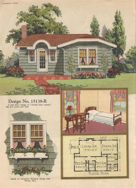 313 best images about 1920s house on pinterest 1920s colorkeed home plans radford 1920s vintage house plans