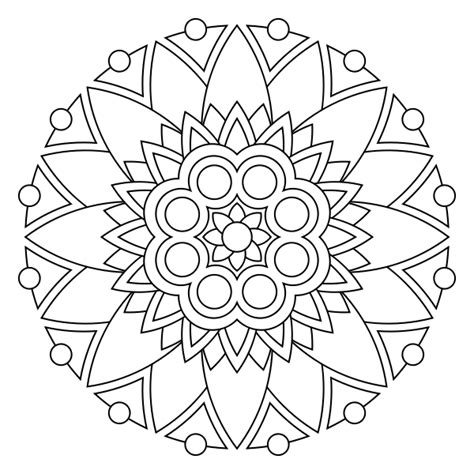 large print simple and easy mandalas coloring book for adults an easy coloring book of mandals for relaxation and stress relief coloring books for grownups volume 61 books free printable mandala coloring pages elad