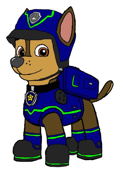 paw patrol super spy chase coloring pages chase super spy outfit by kingleonlionheart on deviantart
