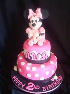 Here is my minnie mouse cake everyone