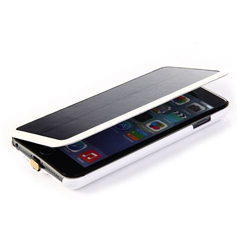 Power Bank Bentuk Iphone 6 4200mah solar charger external backup battery for iphone 6