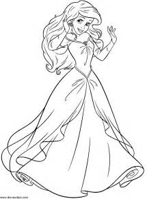 disney ariel eric coloring pages getcoloringpages