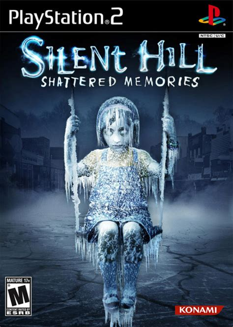 shattered memories the mirror series jual kaset playstation 1 2 silent hill series