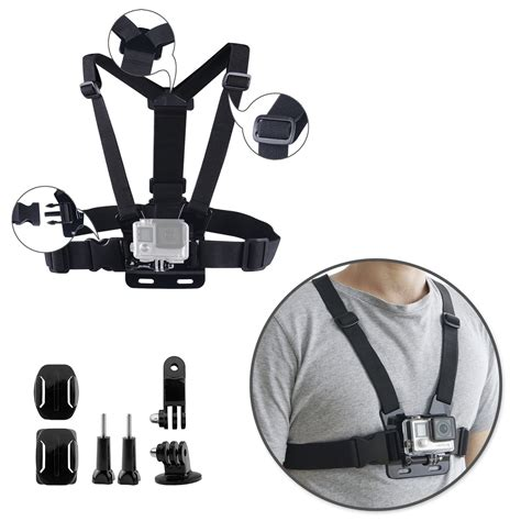 Jual Gopro 4 Black Set accessories set kit for gopro go pro 5 black silver
