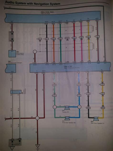 toyota fujitsu 86120 14 wiring diagram toyota camry radio