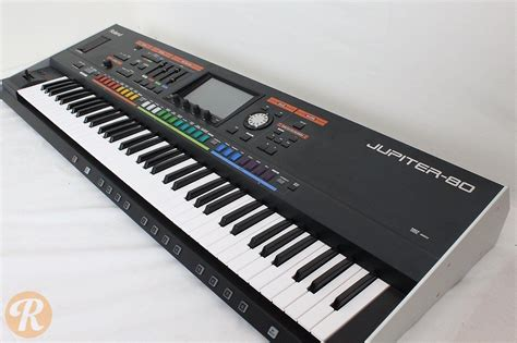Keyboard Roland Jupiter 80 roland jupiter 80 76 key digital synthesizer reverb