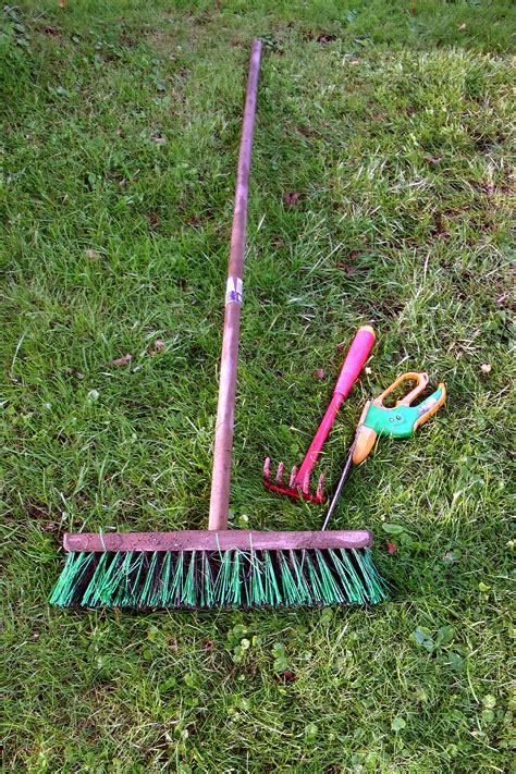 Sapu Taman Nagata Garden Broom gambar alam halaman rumput alat hijau taman tempat