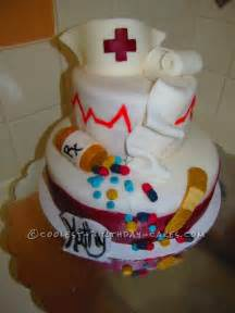coolest nurse retirement cake