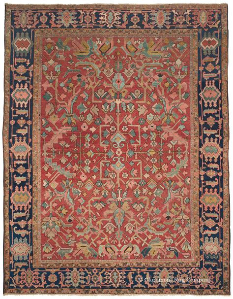 antique rug patterns serapi heriz antique rug with all pattern