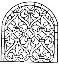 stained glass coloring book stained glass coloring pages