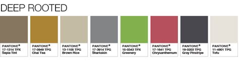 pantone palette 2017 pantone 팬톤코리아
