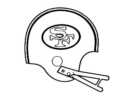 49ers Sketches by 49ers Coloring Pages Az Coloring Pages