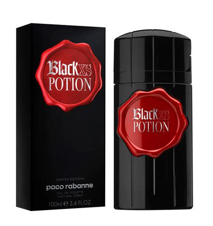 black xs potion black xs potion for him paco rabanne cologne a fragrance