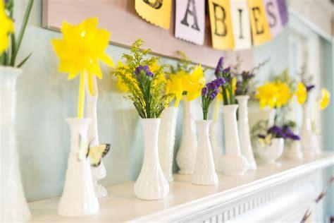 Yellow And Purple Baby Shower baby shower bebehblog