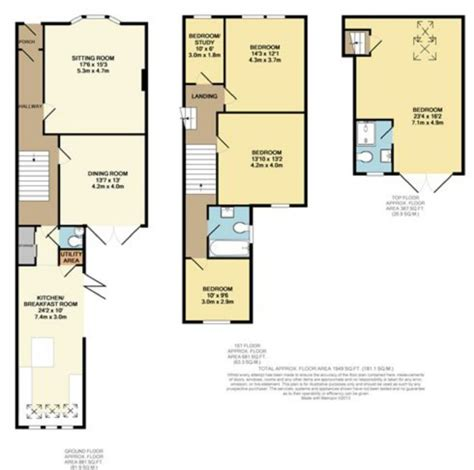 terraced house loft conversion floor plan terraced house loft conversion floor plan terraced house