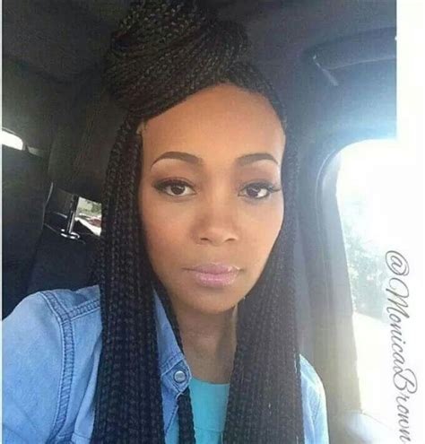 box braids straight hair i wish more celebrities would wear natural hair styles
