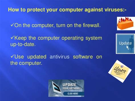 Are You To Your Computer by Computer Virus And Antivirus