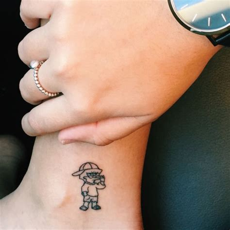 whatever tattoo 25 best ideas about simpsons on
