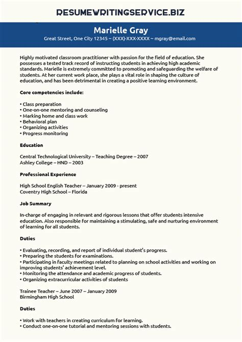 resume writing service for teachers ssays for sale