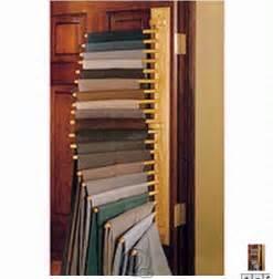 closet organizing 10 pair trouser hanging rack