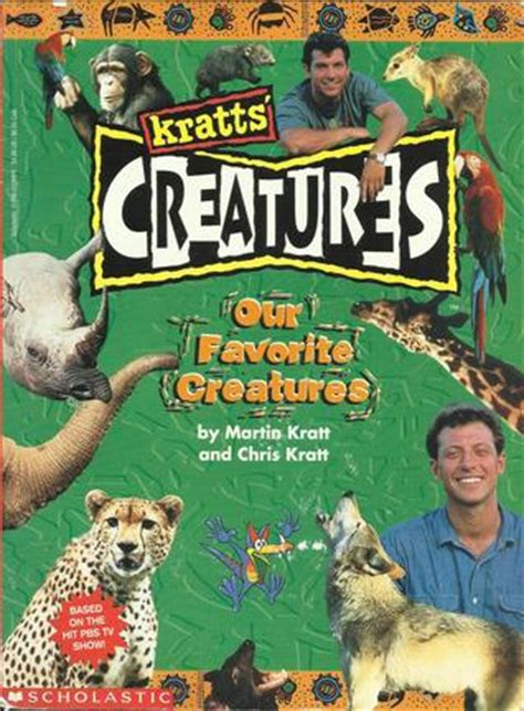 chris martin books our favorite creatures kratts creatures bk 3 by