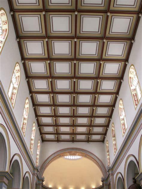 photo denis plafond 224 caissons de la cath 233 drale de