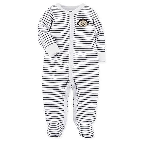 Kaos Carters Size 9 M buy s 174 size 9m zip front cloud footie in pink from bed bath beyond