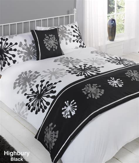And White Bed Covers Duvet Cover With Pillow Quilt Bedding Set Bed In A