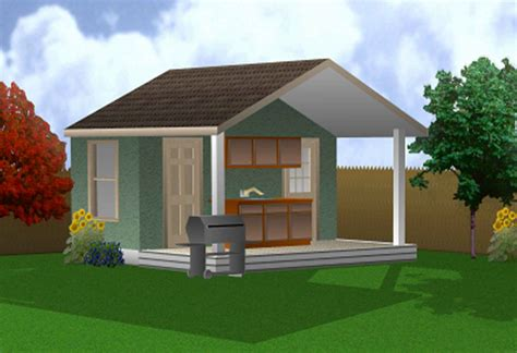 Cabana Design by Triyae Com Backyard Cabana Plans Various Design