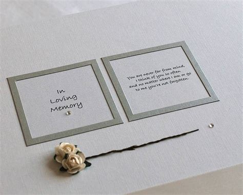in loving memory keepsake box by a touch of verse