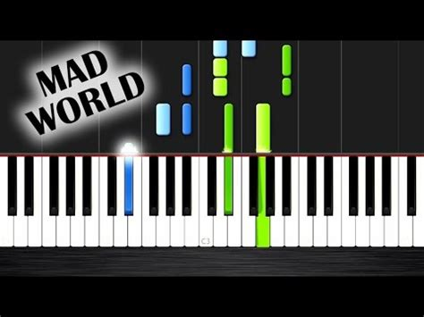 tutorial piano mad world mad world gary jules piano tutorial medium by plutax