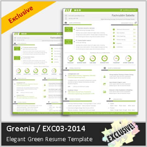surat lamaran kerja greenia contoh cv kreatif dan elegan
