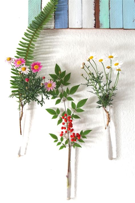 Hanging Vases Diy by Diy Easy Hanging Wall Vases A Of Rainbow