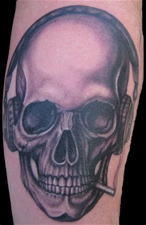dj screw tattoo dj skull by punktattoo on deviantart