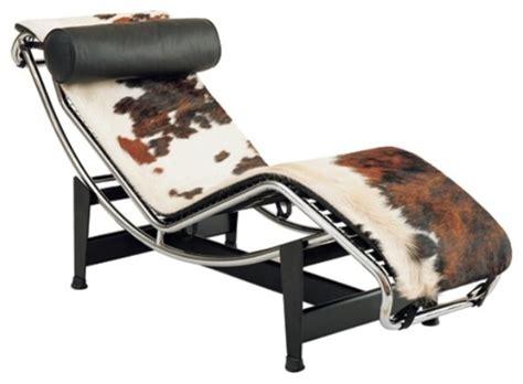 cowhide chaise lounge alphaville design lasair chaise lounge chair view in
