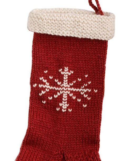free knitting pattern for large christmas stocking holiday stocking knitting patterns and crochet patterns