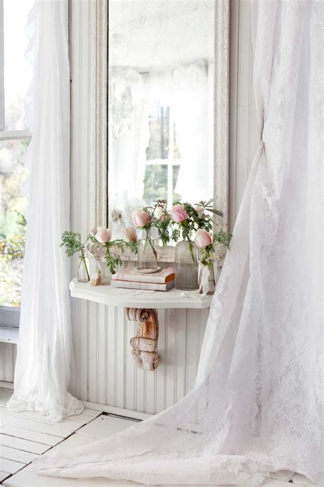 shabby cottage chic kitchen design gallery shabby chic lace curtains