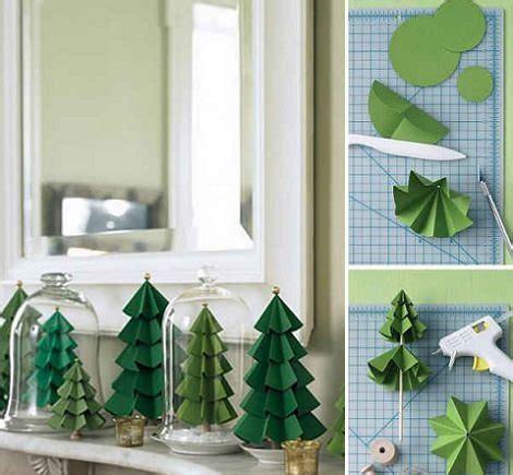 arbol de navidad casero ideas para hacer un 225 rbol de navidad casero de papel