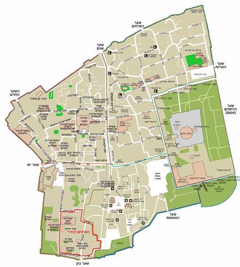 city jerusalem map file map of jerusalem the city png wikimedia commons