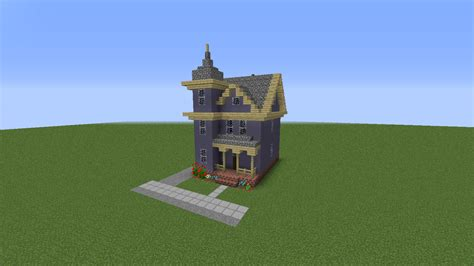 Small Cabin Blueprints by A Victorian House Minecraft