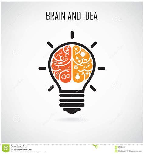 ideas unlimited seminars creative brain idea stock vector image of concept design