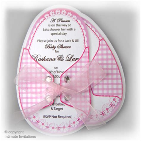 baby shower booties template one baby invitation booties ribbon rhinestones pink