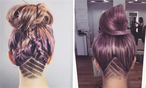 fotos de cortes de pelo de la nuca tendencia en peinados el undercut
