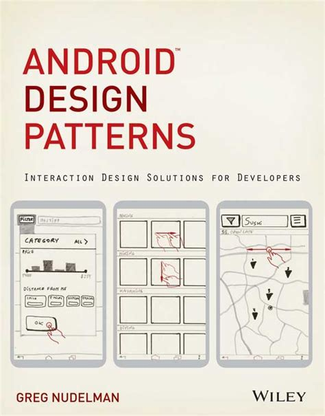 pattern for android android design patterns interaction design solutions for
