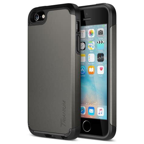 iphone 5 cases trianium protak series for iphone se iphone 5s 5 gunmetal gray